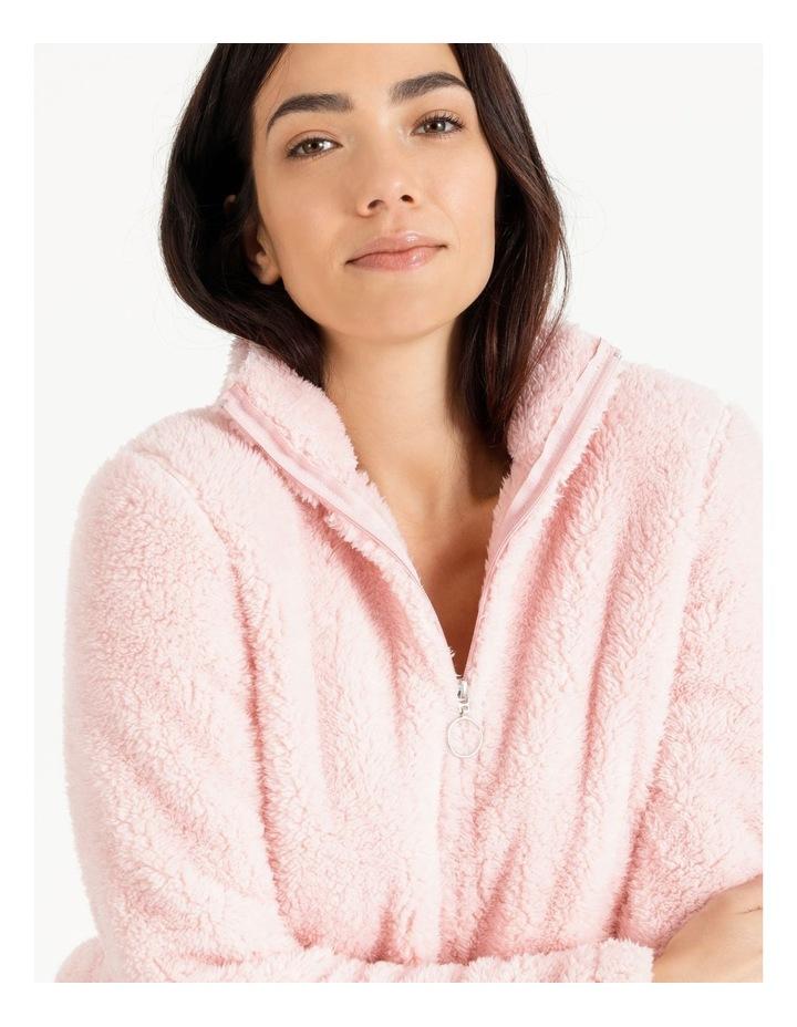 Woven Fleece Zip Jumper image 3