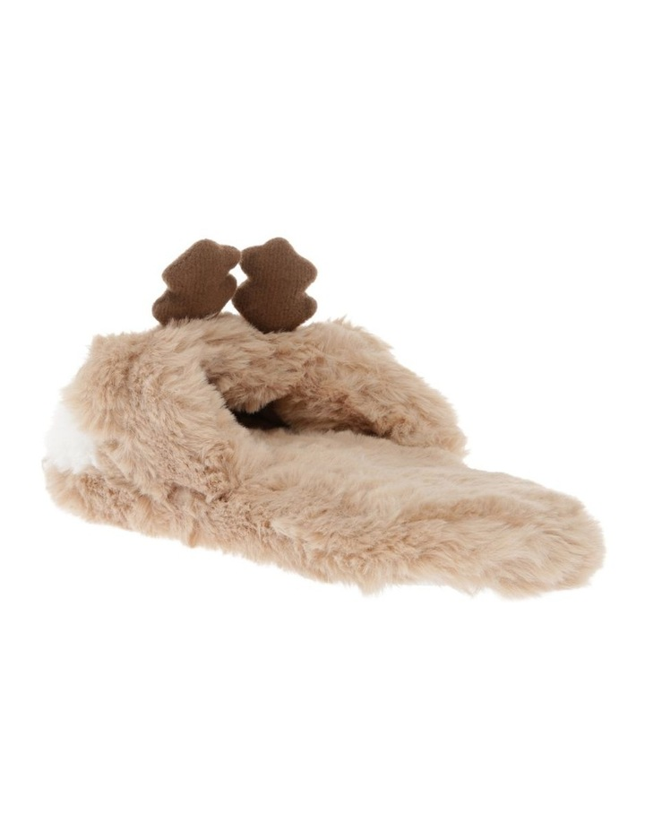 Reindeer Novelty Slipper image 2