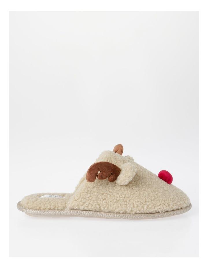Shearling Reindeer Slipper image 1