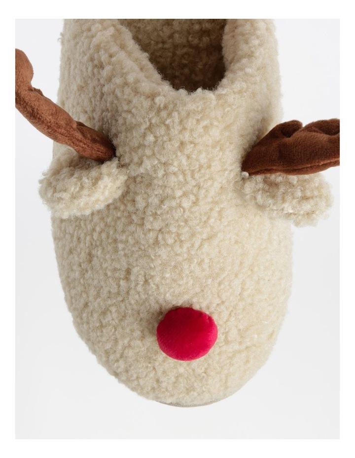 Shearling Reindeer Slipper image 3