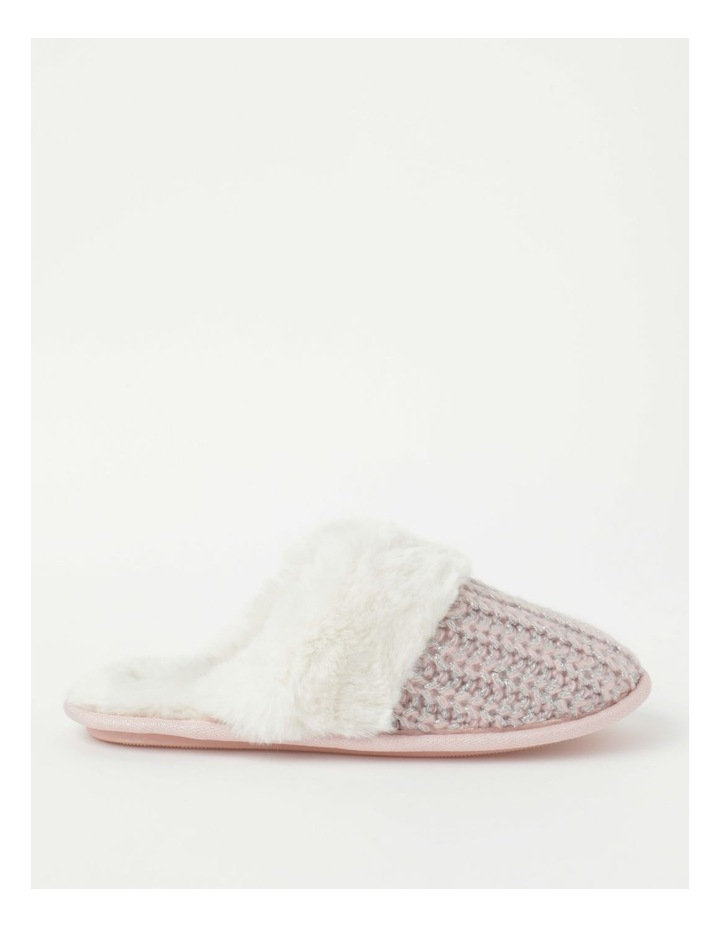 Knitted Fluffy Slipper image 1
