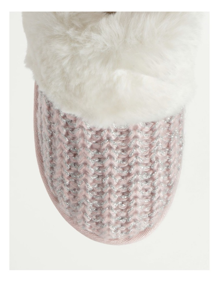 Knitted Fluffy Slipper image 2