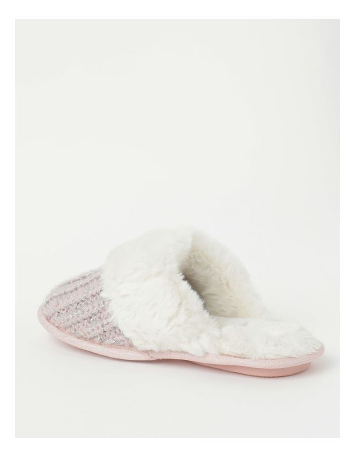 Knitted Fluffy Slipper image 3