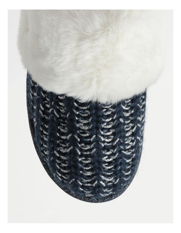 Knitted Fluffy Slipper image 3