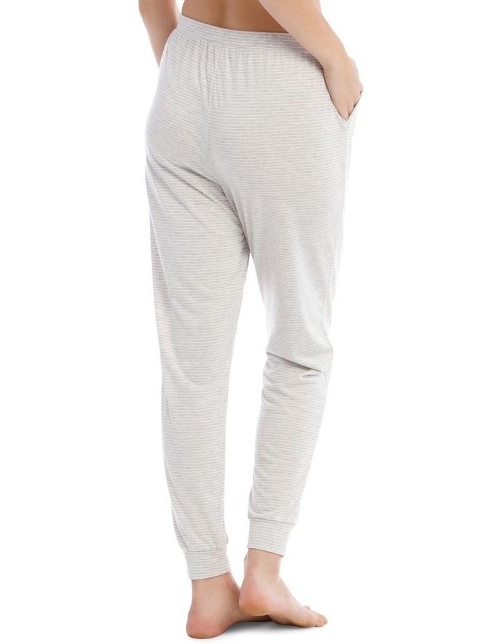 Sleeping Hearts Long Knit Pant in Grey image 2