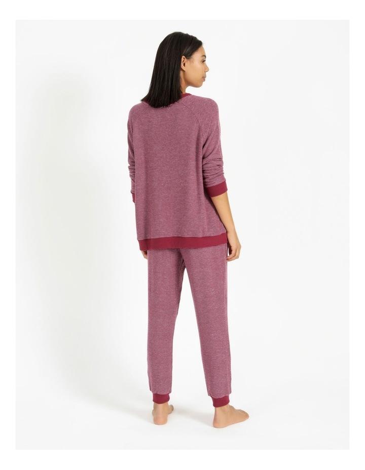 Core Knit Brushed Cuffed Pant image 3