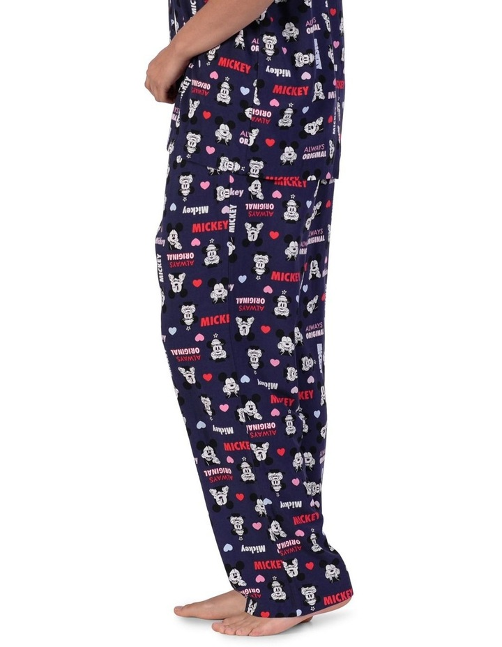 Women's Mickey Mouse Woven Long Pant image 2