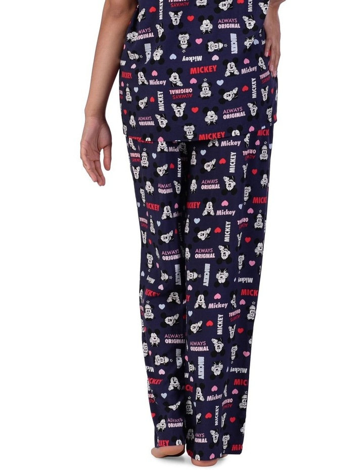 Women's Mickey Mouse Woven Long Pant image 3