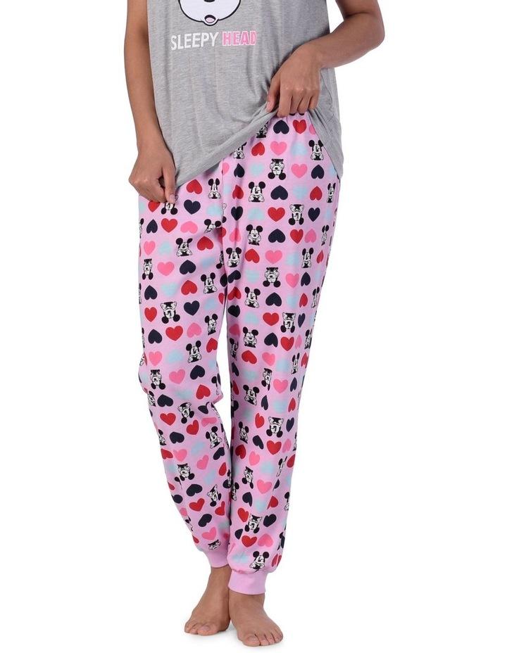 Women's Mickey Mouse Fleece Cuffed Pant image 1