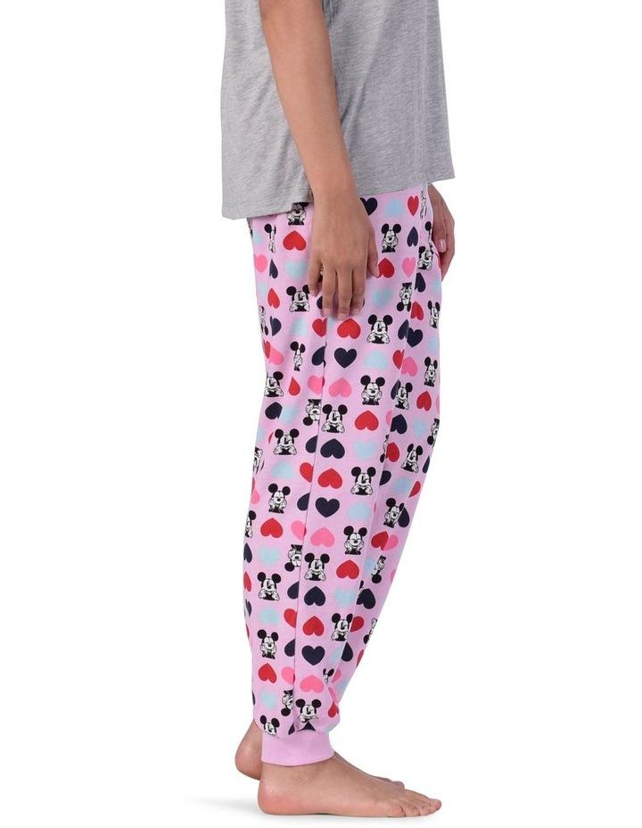 Women's Mickey Mouse Fleece Cuffed Pant image 2