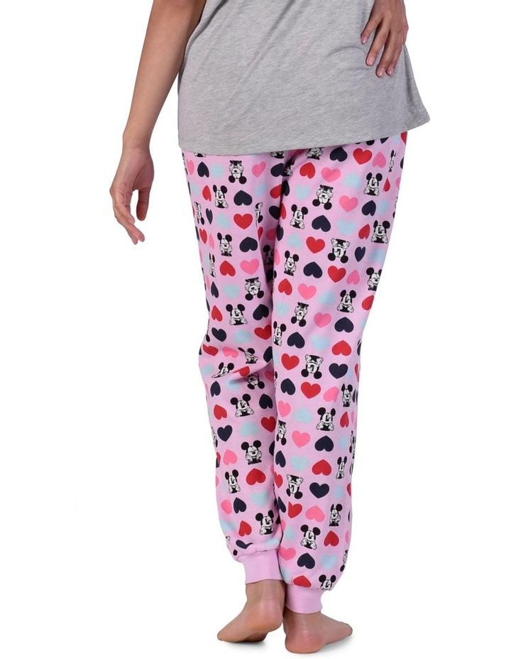 Women's Mickey Mouse Fleece Cuffed Pant image 3