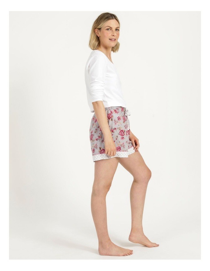 Woven Short Grey Floral image 4
