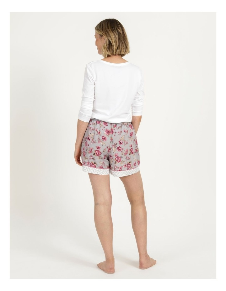 Woven Short Grey Floral image 5