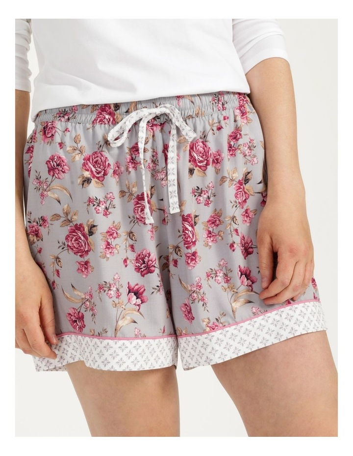 Woven Short Grey Floral image 6