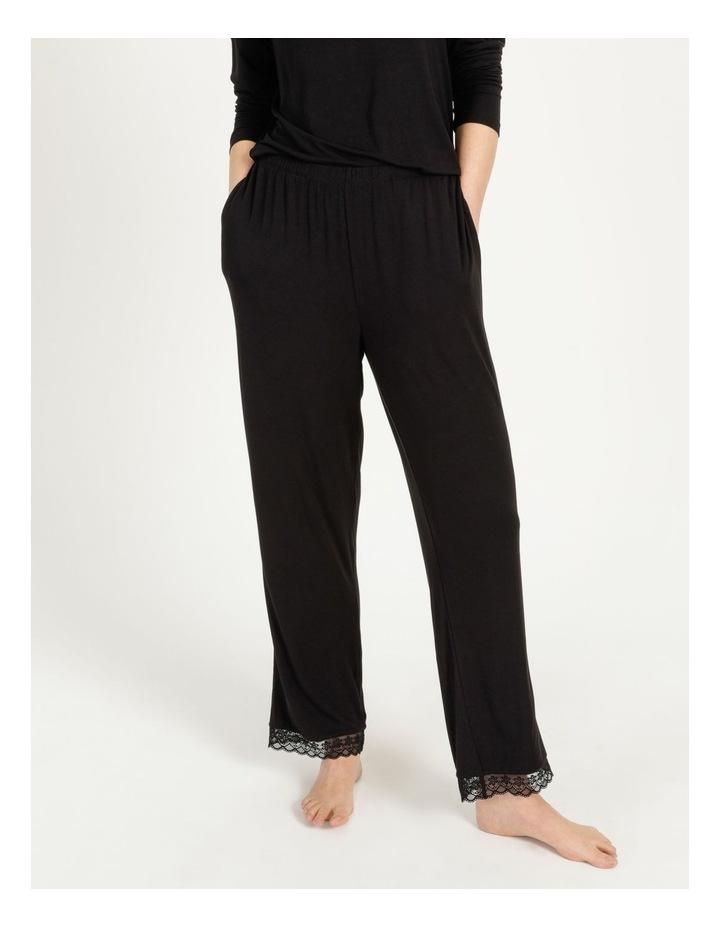 Viscose Elastane Long Pant Black image 2