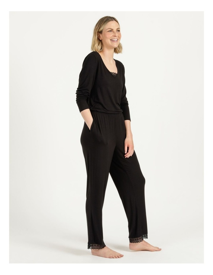 Viscose Elastane Long Pant Black image 4