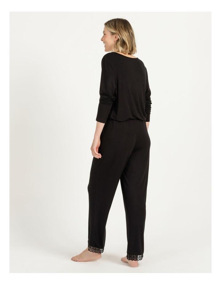 Viscose Elastane Long Pant Black image 5