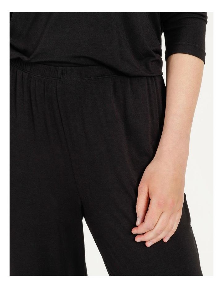 Viscose Elastane Long Pant Black image 6