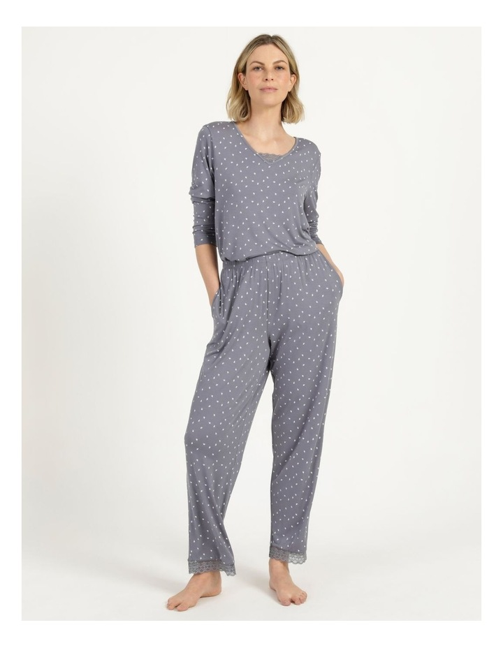 Viscose Elastane Long Pant Grey image 2