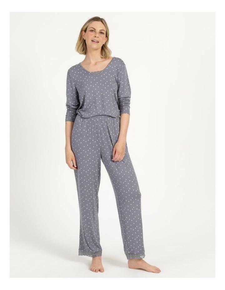 Viscose Elastane Long Pant Grey image 4