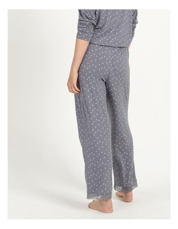 Viscose Elastane Long Pant Grey image 5