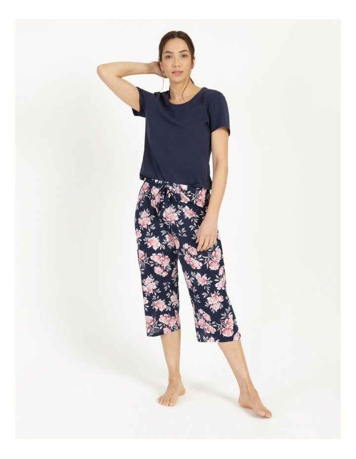 Organic Cotton Woven 3/4 Pant image 3