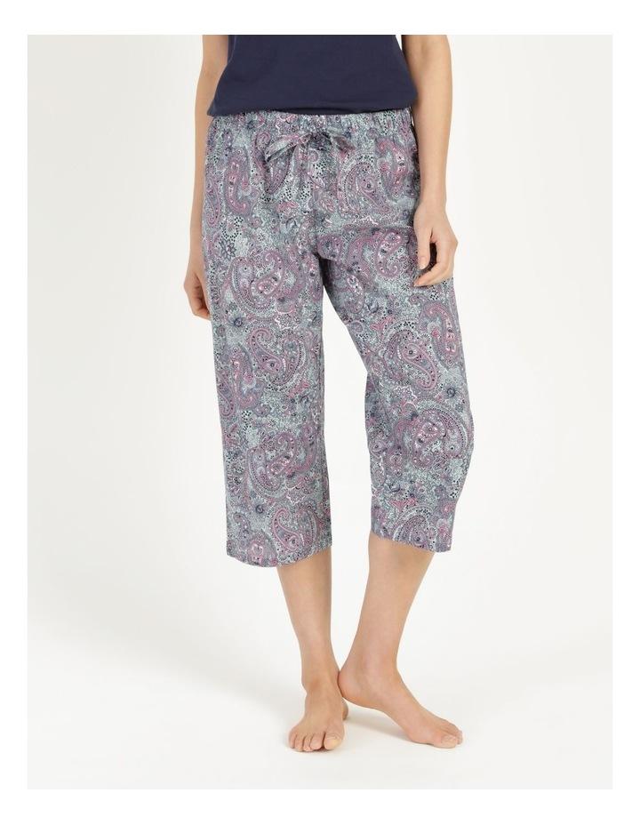 Organic Cotton Woven 3/4 Pant image 1