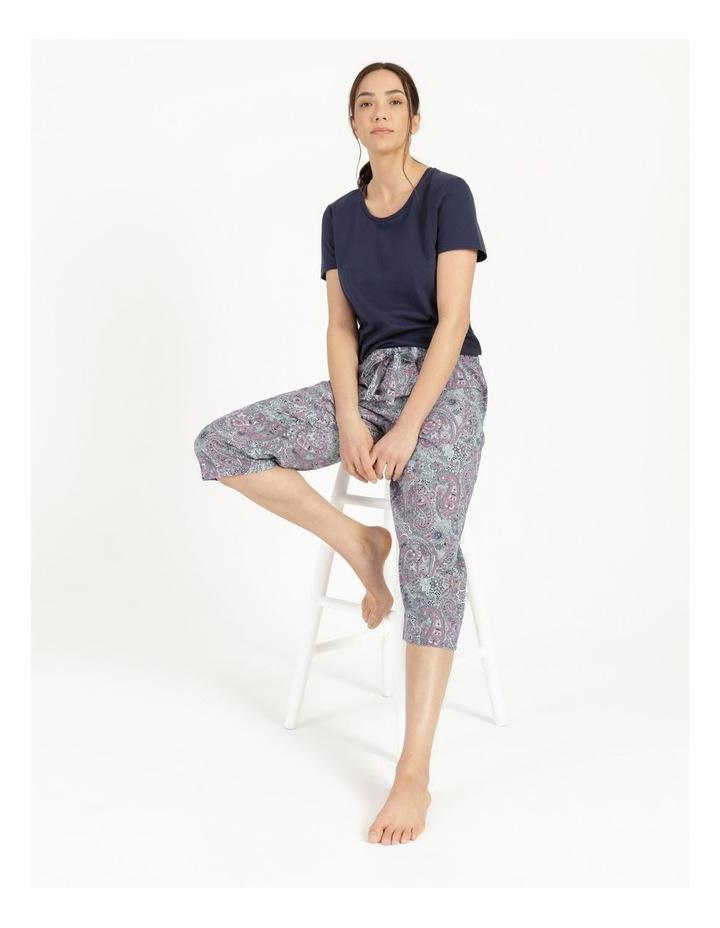 Organic Cotton Woven 3/4 Pant image 2