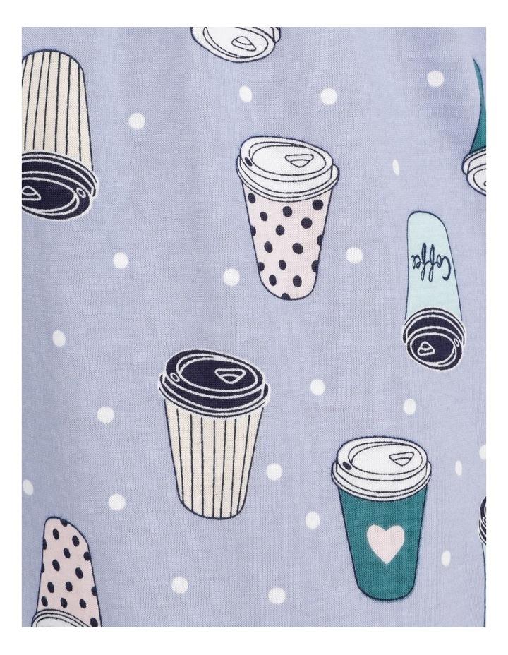 Organic Cotton Knit 3/4 Pant Blue image 7