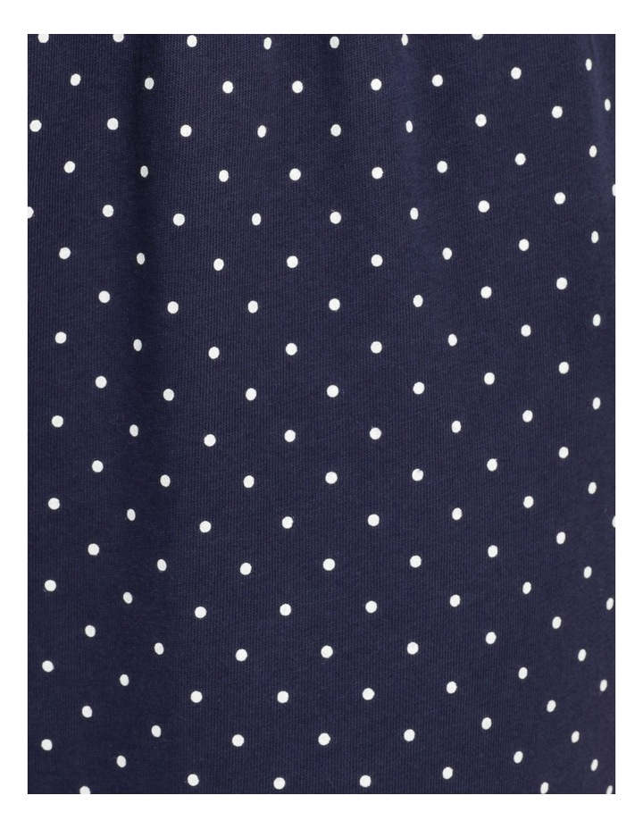 Organic Cotton Knit 3/4 Pant Navy image 7