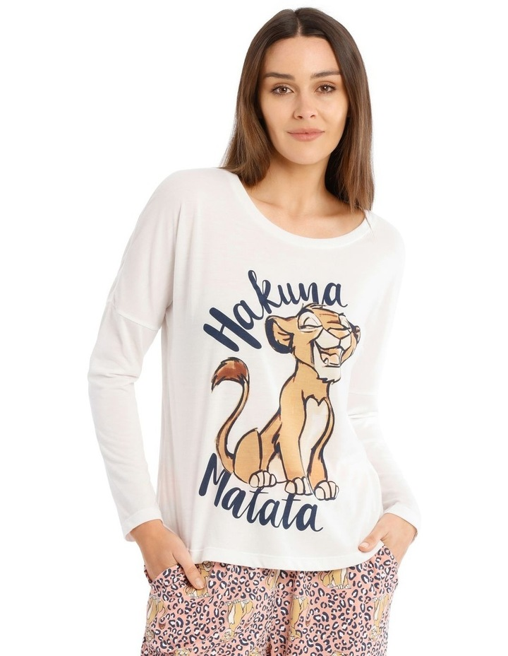 Lion King Knit Long Sleeve Top image 1