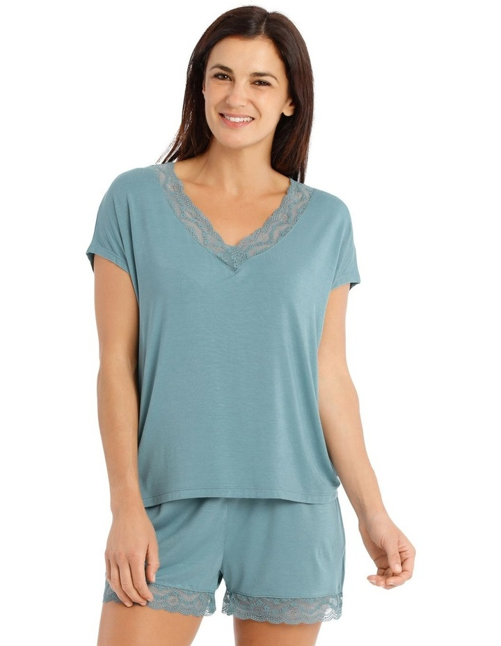 Lucinda Knit Short Sleeve Top image 1
