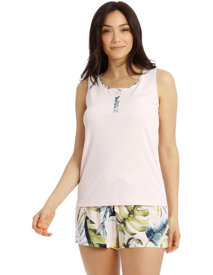 Tropicana Knit Sleeveless Top image 1