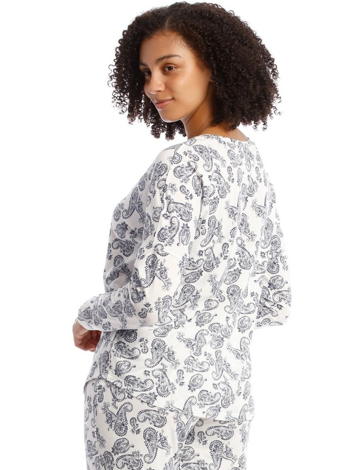 Core Knit Long Sleeve Top image 2