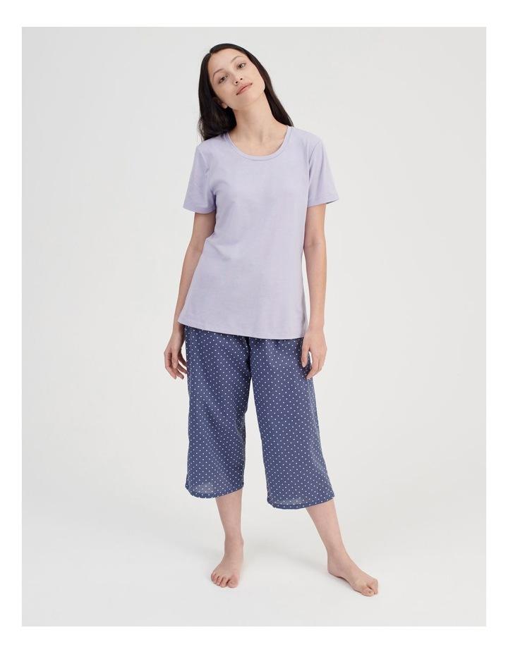 Knit Short Sleeve PJ Top image 2