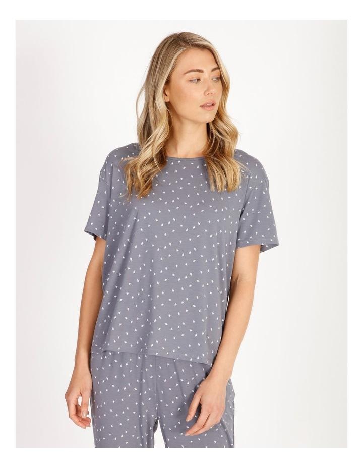 Core Short-Sleeve Knit Pyjama Top image 1