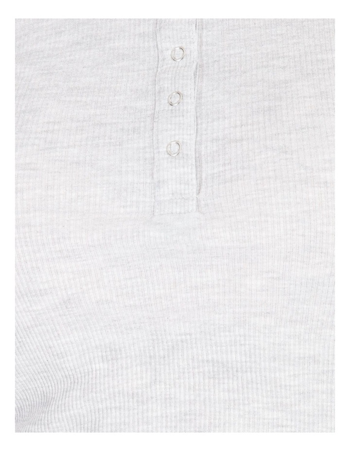 Henley Long Sleeve PJ Top image 4