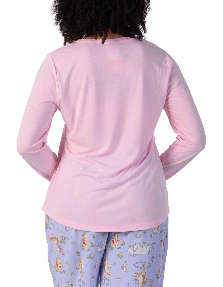 Women's Winne The Pooh Knit Long Sleeve Tee image 3
