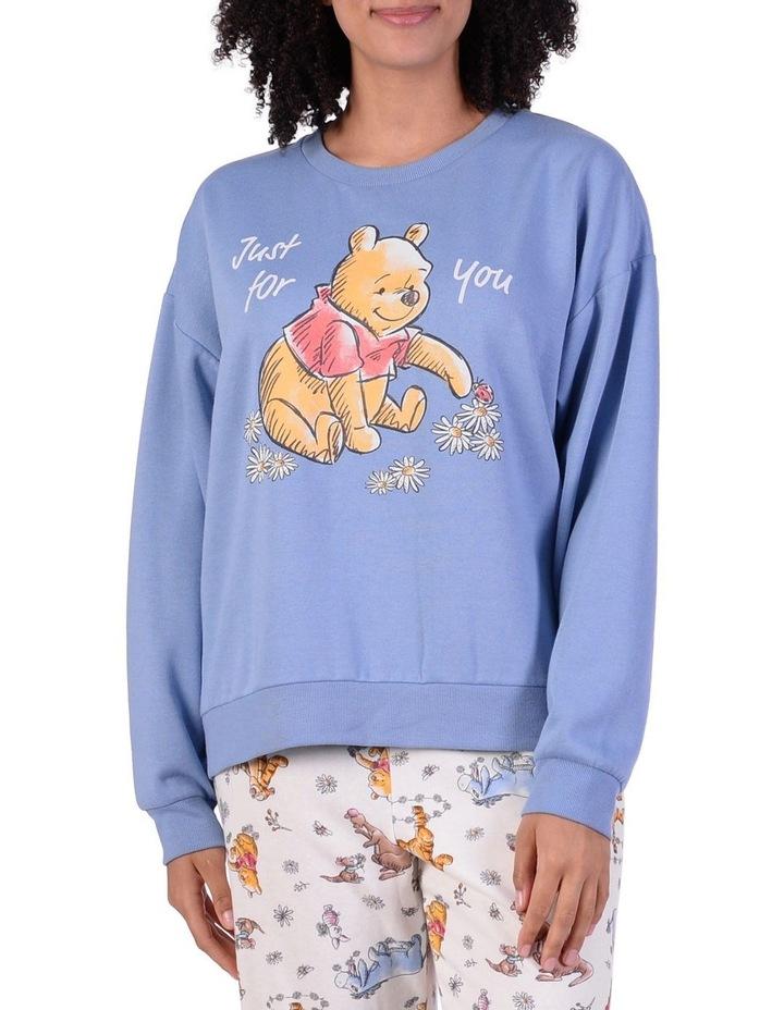 Women's Winne The Pooh Sweater Top image 1