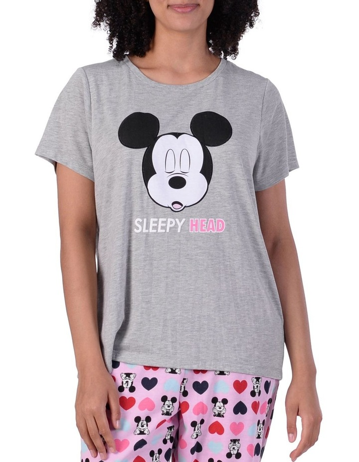 Women's Mickey Mouse Knit Short Sleeve Top image 1