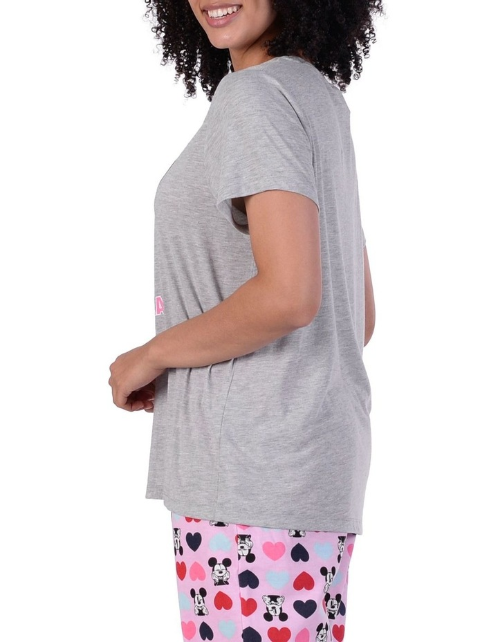 Women's Mickey Mouse Knit Short Sleeve Top image 2