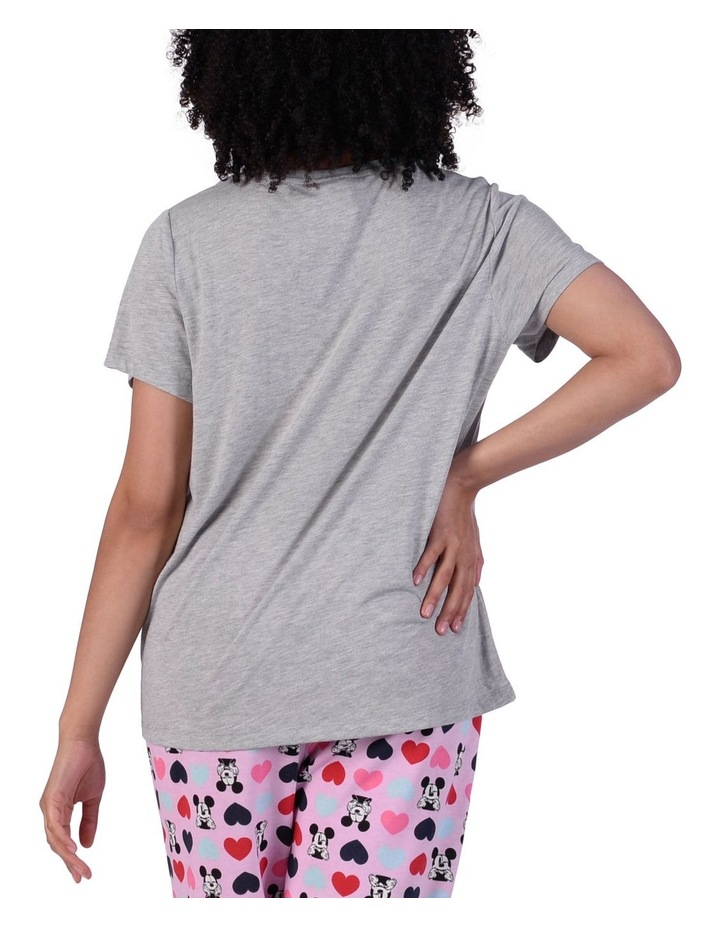 Women's Mickey Mouse Knit Short Sleeve Top image 3