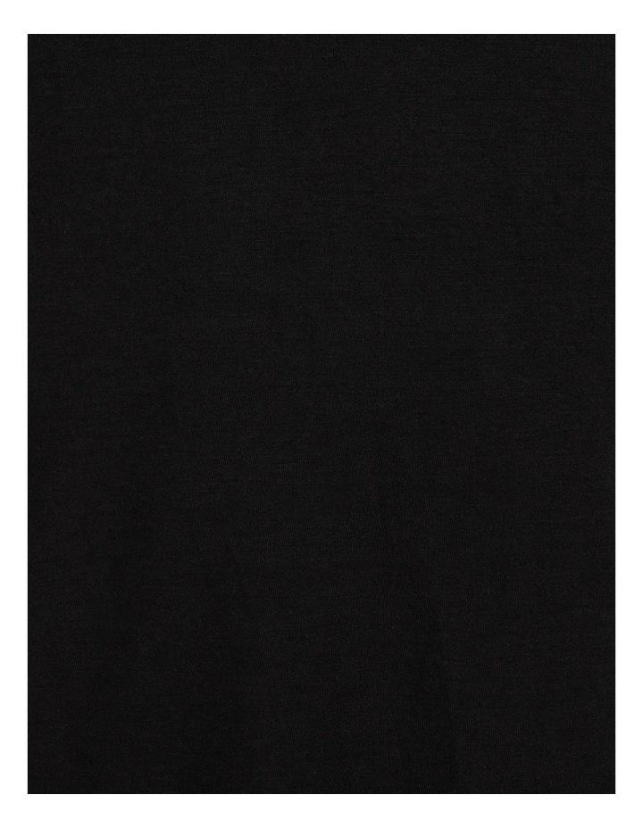 Viscose Elastane Long Sleeve Top Black image 7