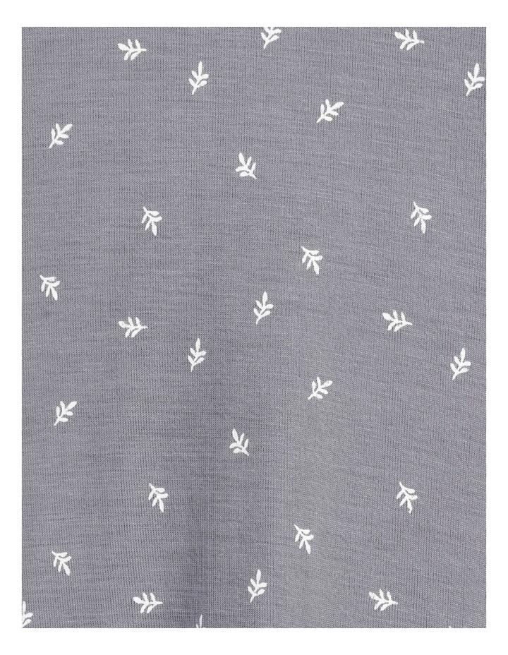 Viscose Elastane Long Sleeve Top Grey image 7