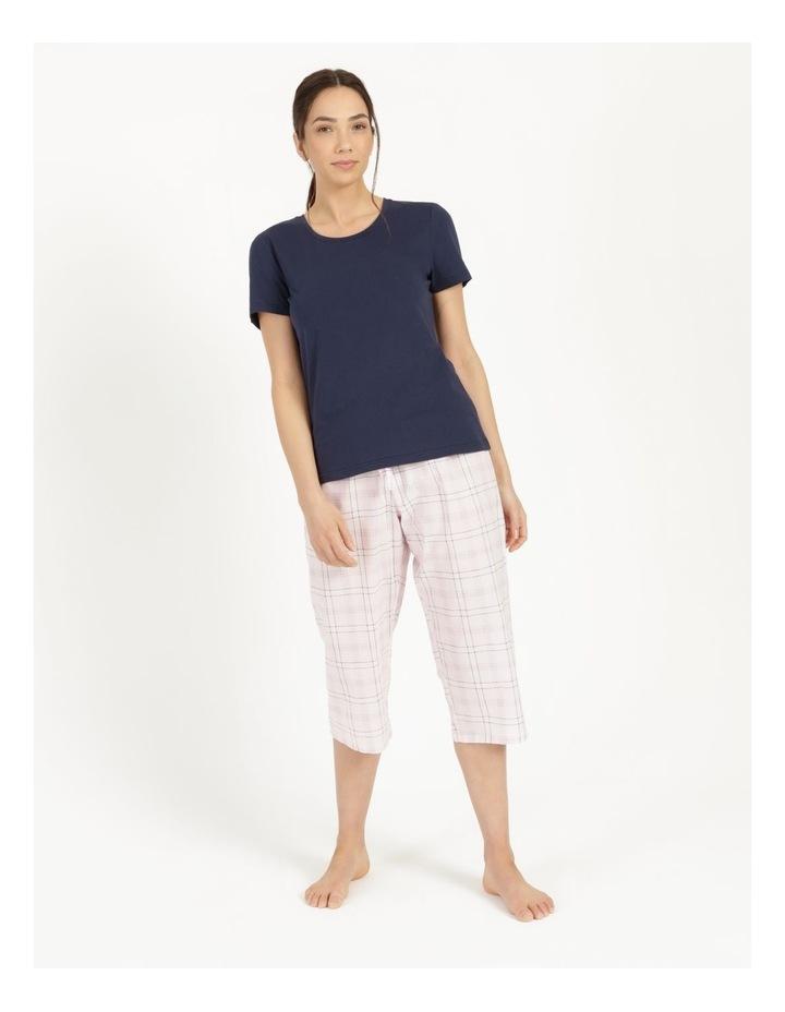 Organic Cotton Knit Short Sleeve Top image 2