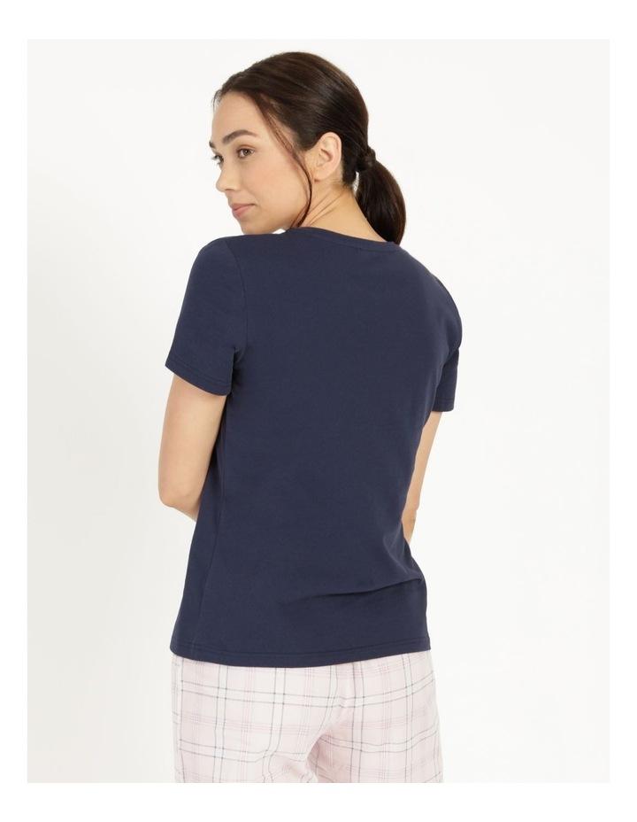 Organic Cotton Knit Short Sleeve Top image 4