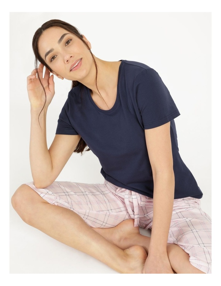 Organic Cotton Knit Short Sleeve Top image 5