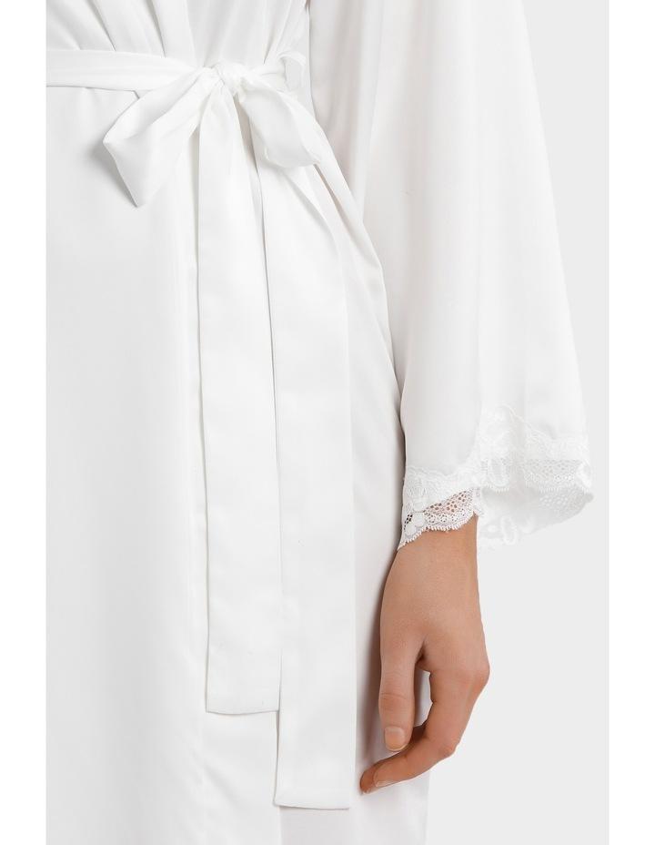 Satin Basics Long Robe SSOW17049 image 3