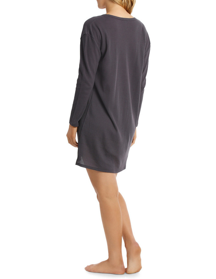 Little Willow Long Sleeve Waffle Nightie SCLW18025 image 2