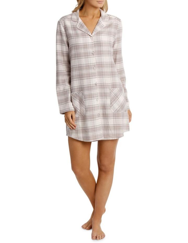 Songbird Long Sleeve Flannel Nightshirt SCLW18060 image 1